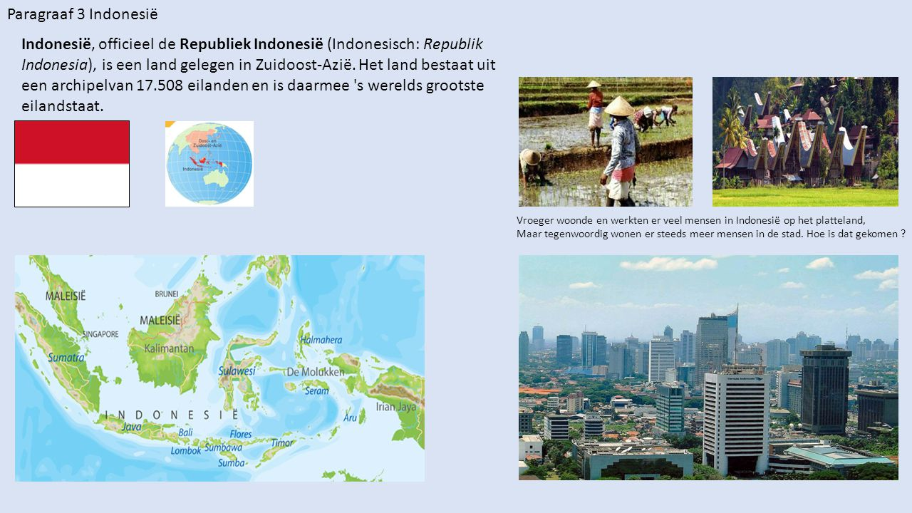 Paragraaf 3 Indonesië