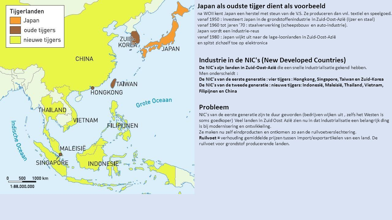 Japan als oudste tijger dient als voorbeeld