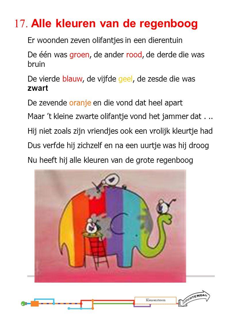 17. Alle kleuren van de regenboog