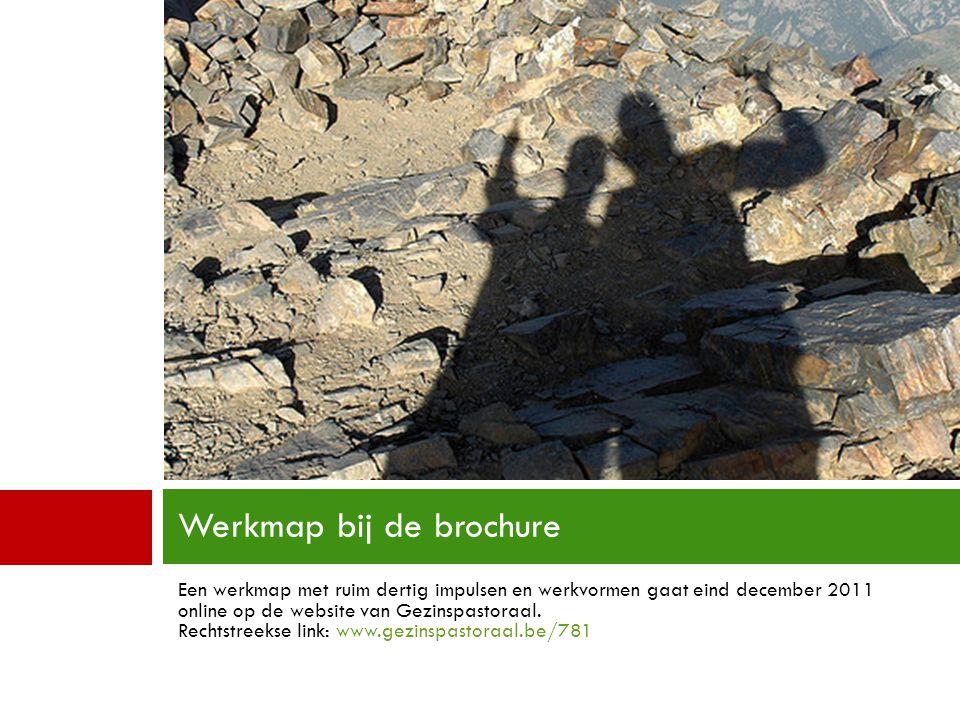 Werkmap bij de brochure