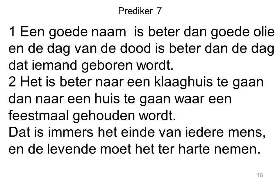 Prediker 7