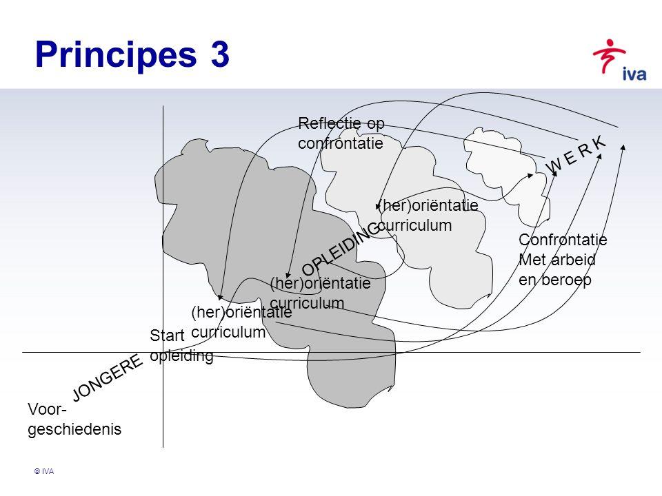 Principes 3 Reflectie op confrontatie W E R K (her)oriëntatie