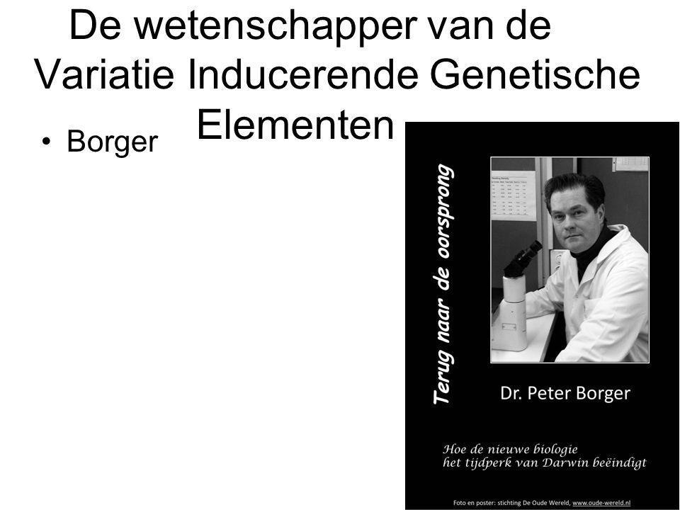 De wetenschapper van de Variatie Inducerende Genetische Elementen