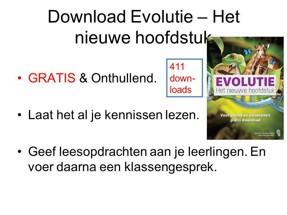 Download Evolutie – Het nieuwe hoofdstuk