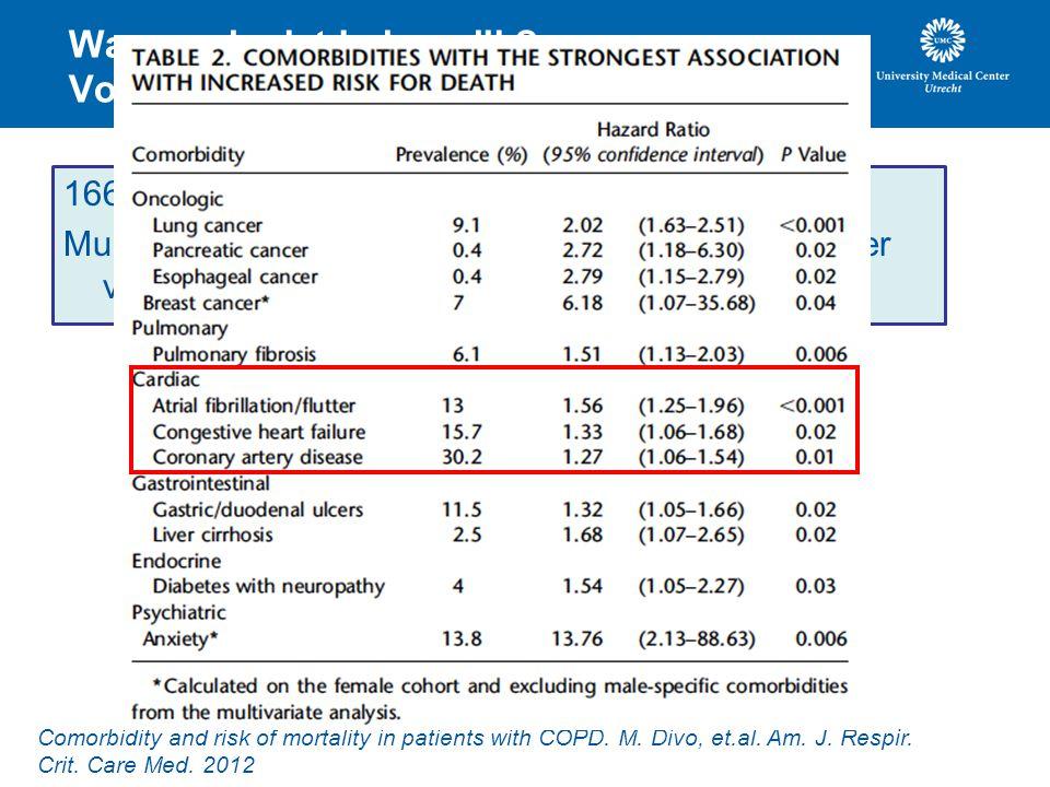 Waarom is dat belangrijk Voorbeeld COPD.