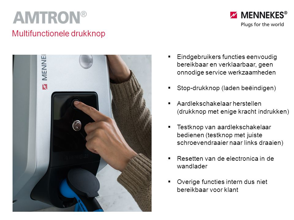 Multifunctionele drukknop