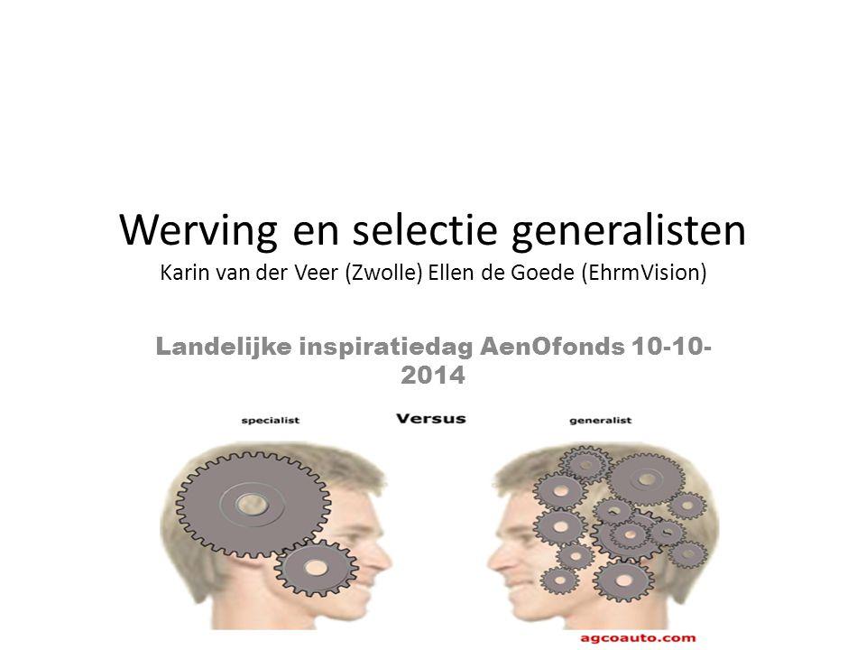 Landelijke inspiratiedag AenOfonds 10-10-2014