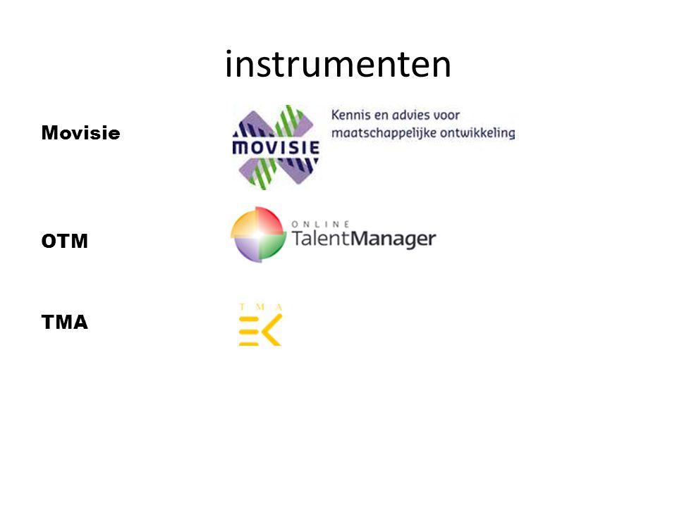 instrumenten Movisie OTM TMA