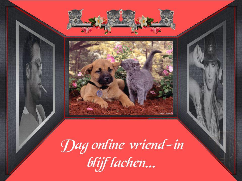 Dag online vriend-in blijf lachen...