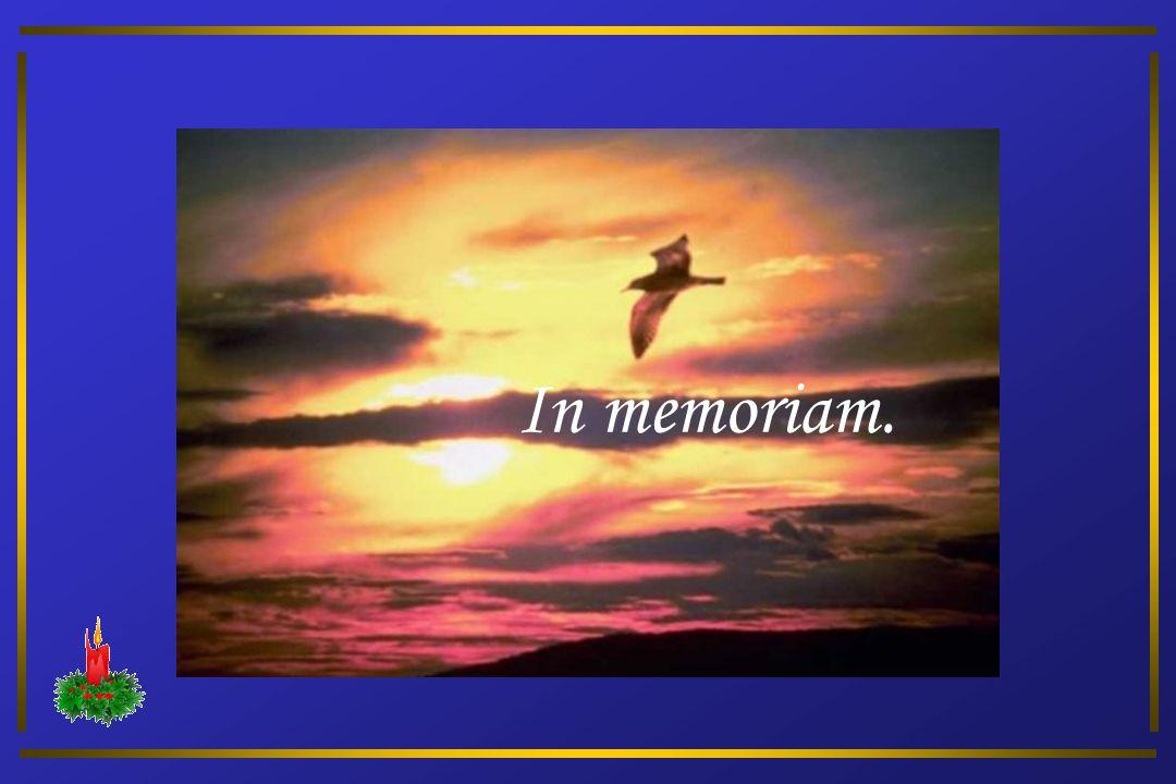 In memoriam. 1