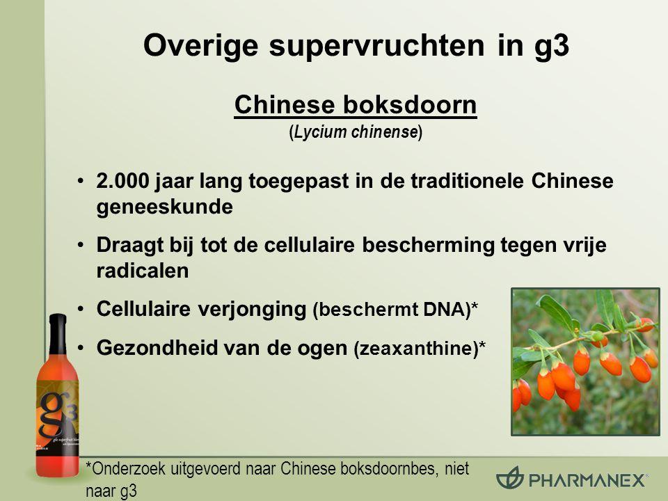 Overige supervruchten in g3