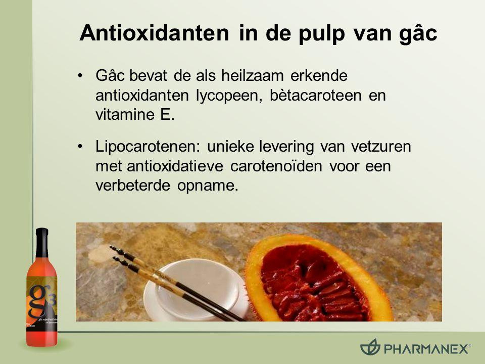 Antioxidanten in de pulp van gâc