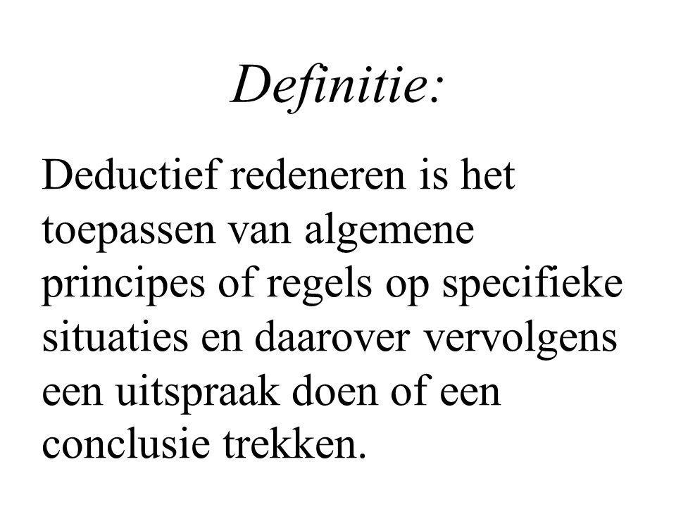 Definitie: