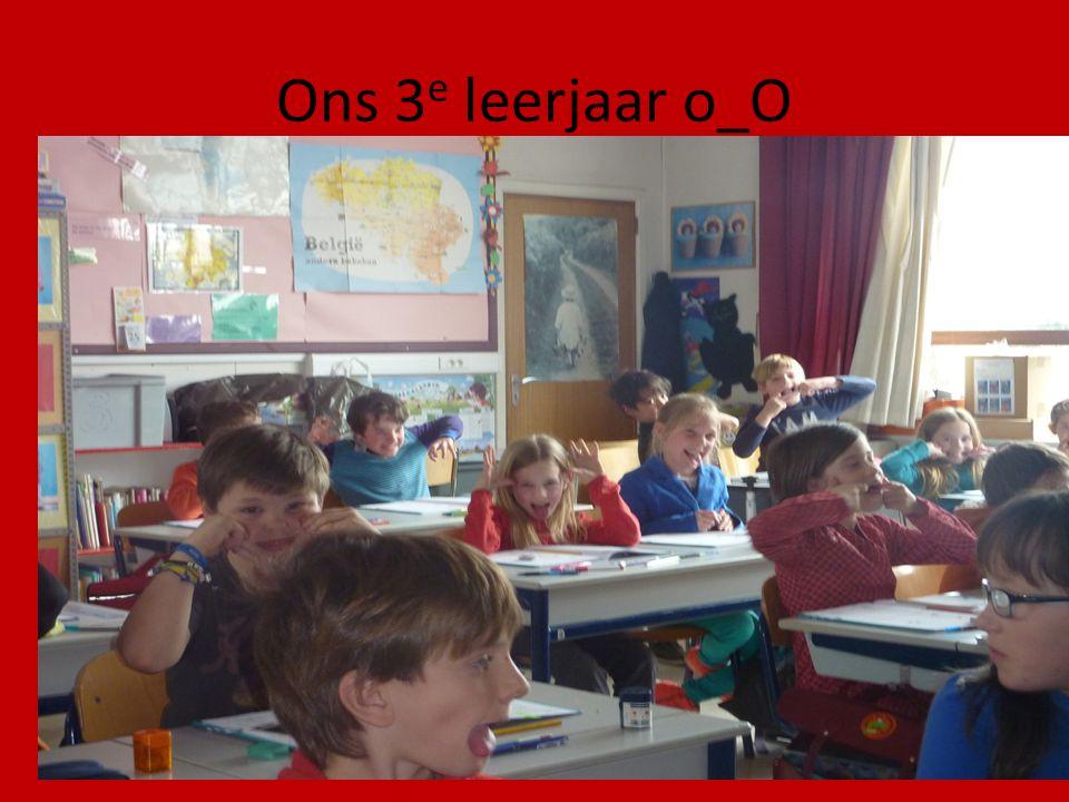 Ons 3e leerjaar o_O