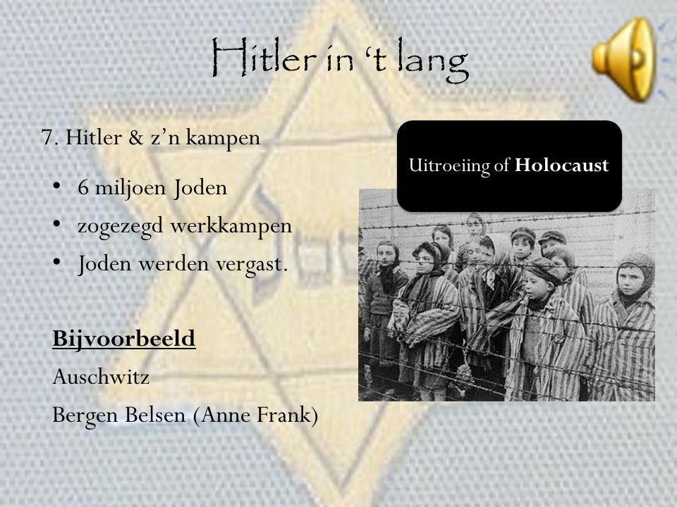Uitroeiing of Holocaust