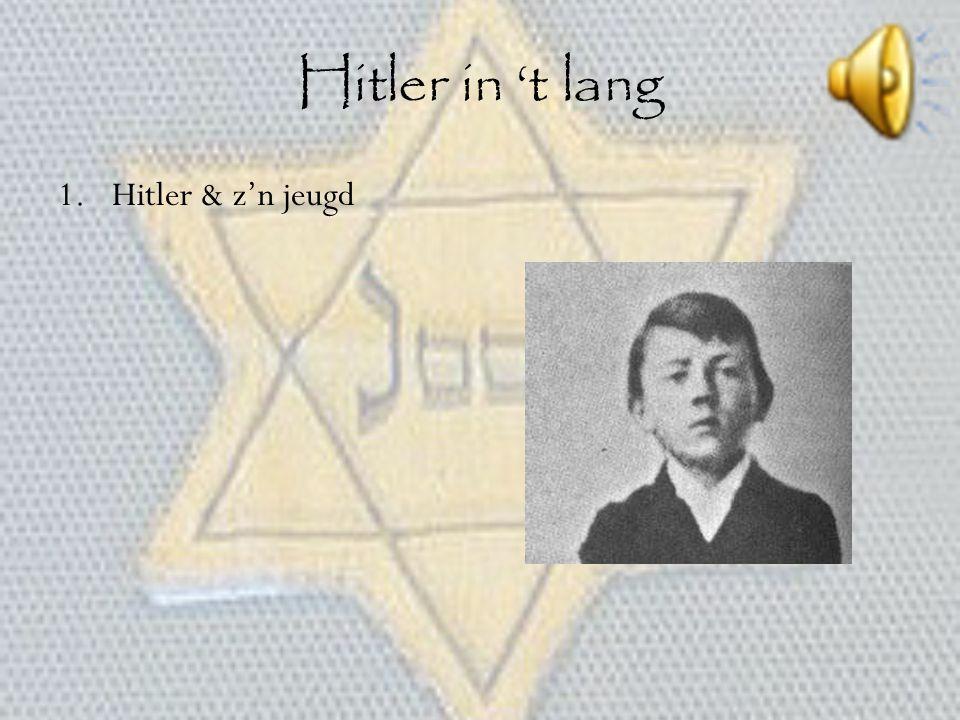 Hitler in 't lang Hitler & z'n jeugd