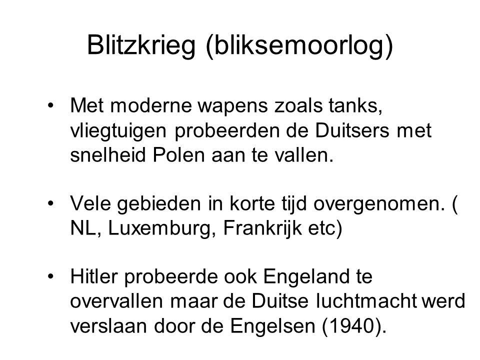 Blitzkrieg (bliksemoorlog)