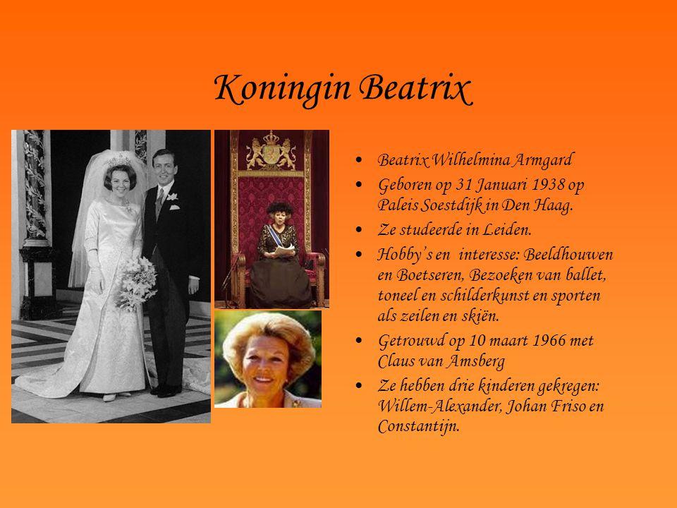 Koningin Beatrix Beatrix Wilhelmina Armgard