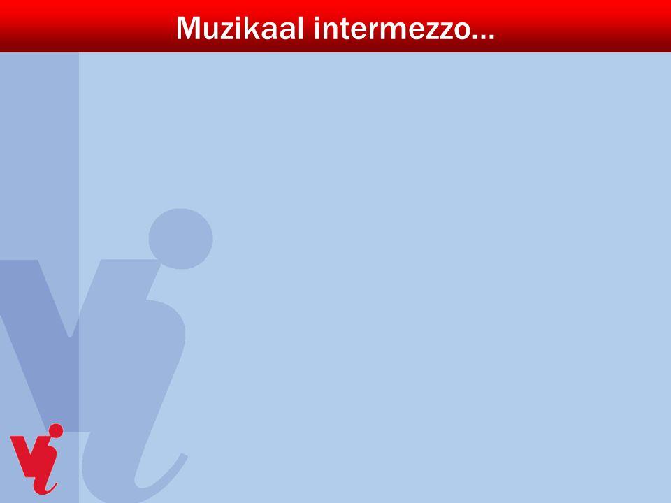 Muzikaal intermezzo…