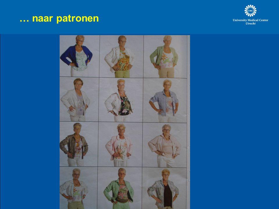 … naar patronen