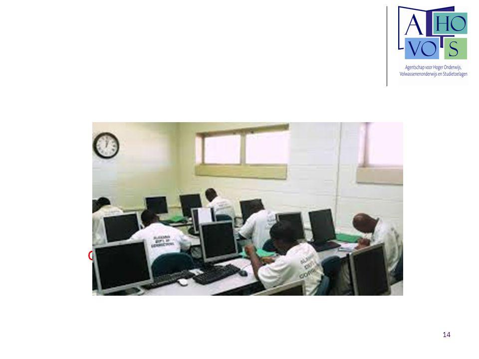 Gedetineerden volgen digitale opleiding