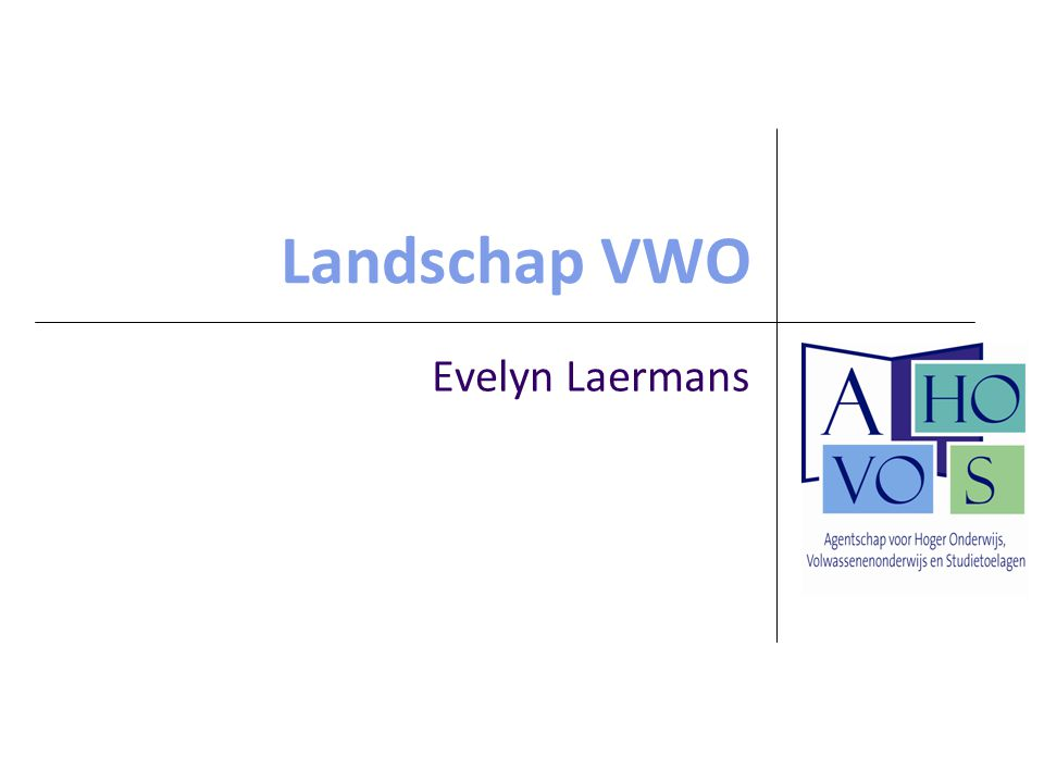 Landschap VWO Evelyn Laermans