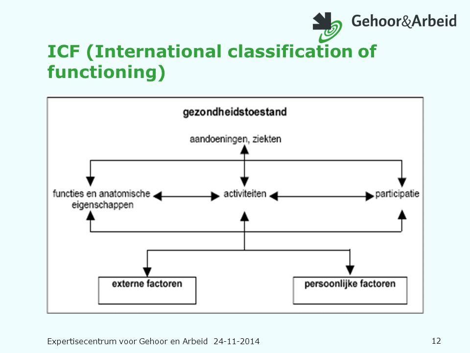 ICF (International classification of functioning)