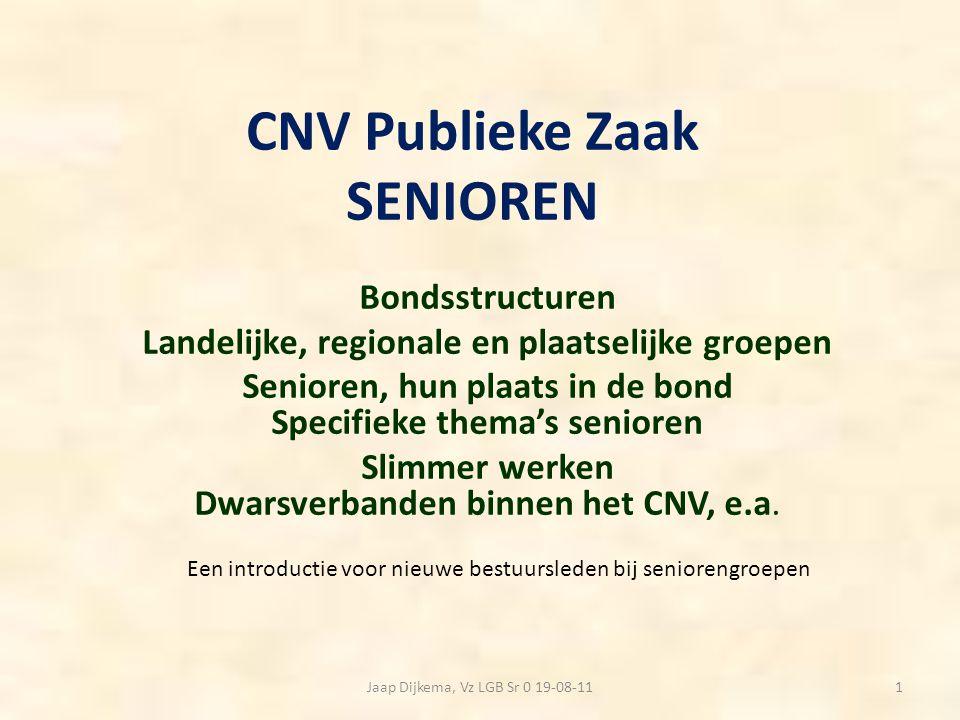CNV Publieke Zaak SENIOREN