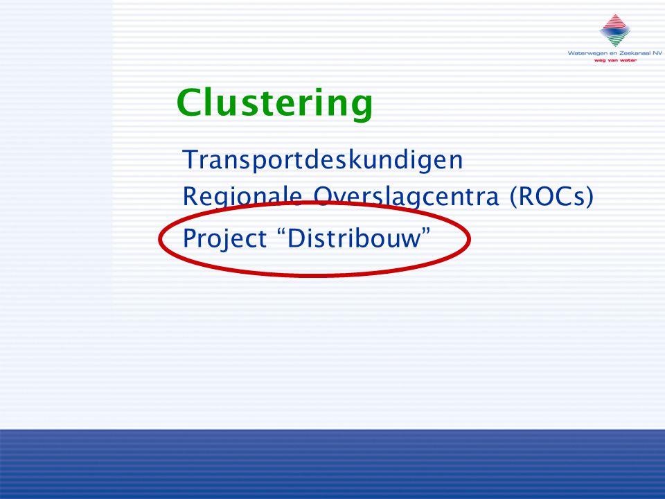 Clustering Transportdeskundigen Regionale Overslagcentra (ROCs)
