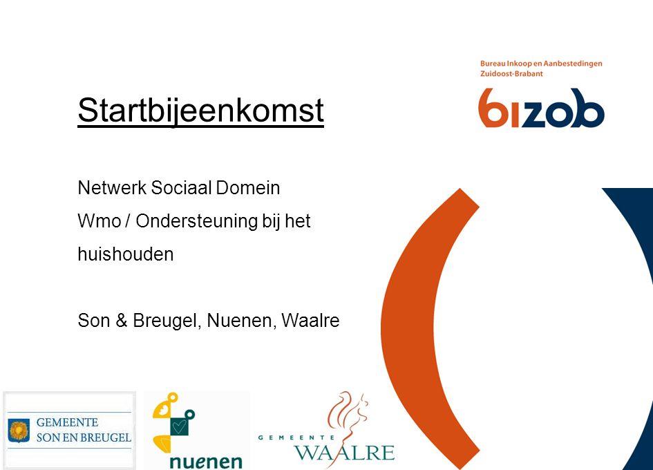 Startbijeenkomst Netwerk Sociaal Domein