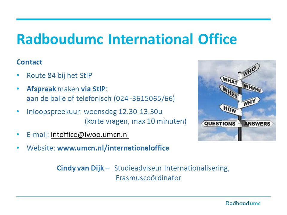 Radboudumc International Office