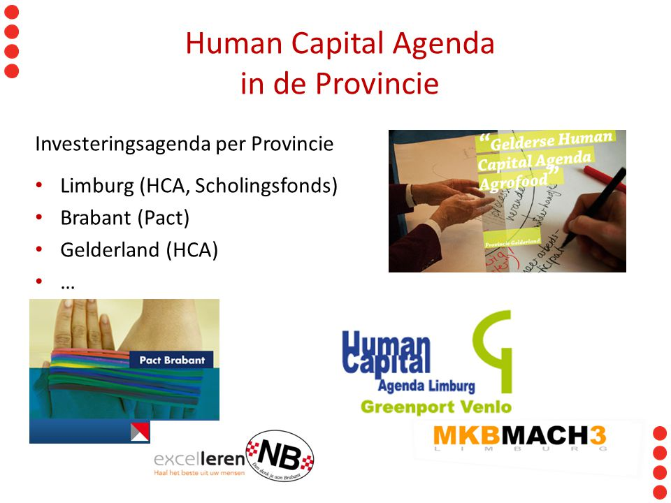 Human Capital Agenda in de Provincie