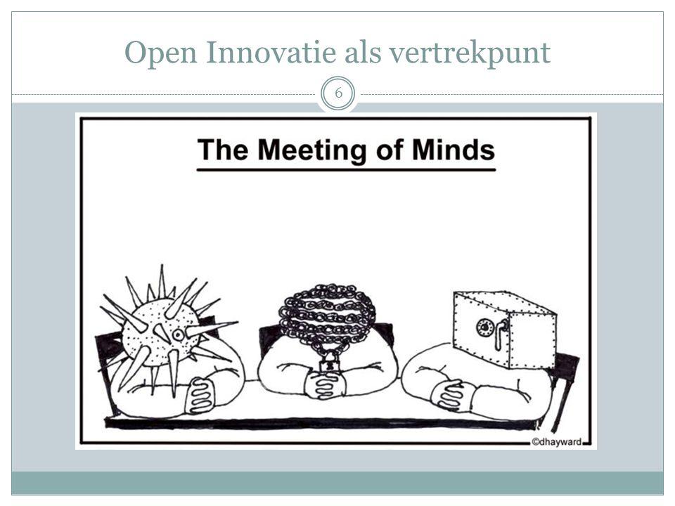Open Innovatie als vertrekpunt