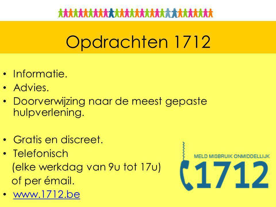 Opdrachten 1712 Informatie. Advies.