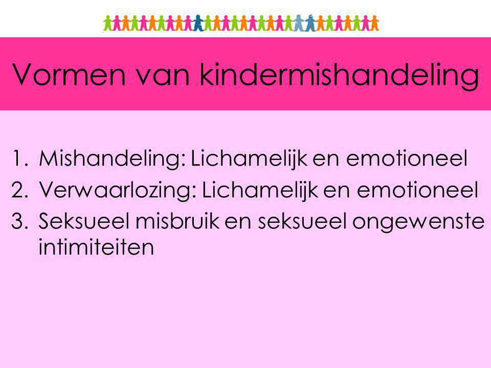 Vormen van kindermishandeling