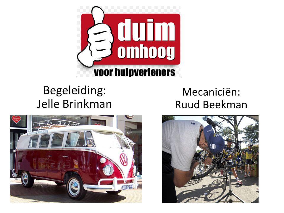 Begeleiding: Jelle Brinkman Mecaniciën: Ruud Beekman
