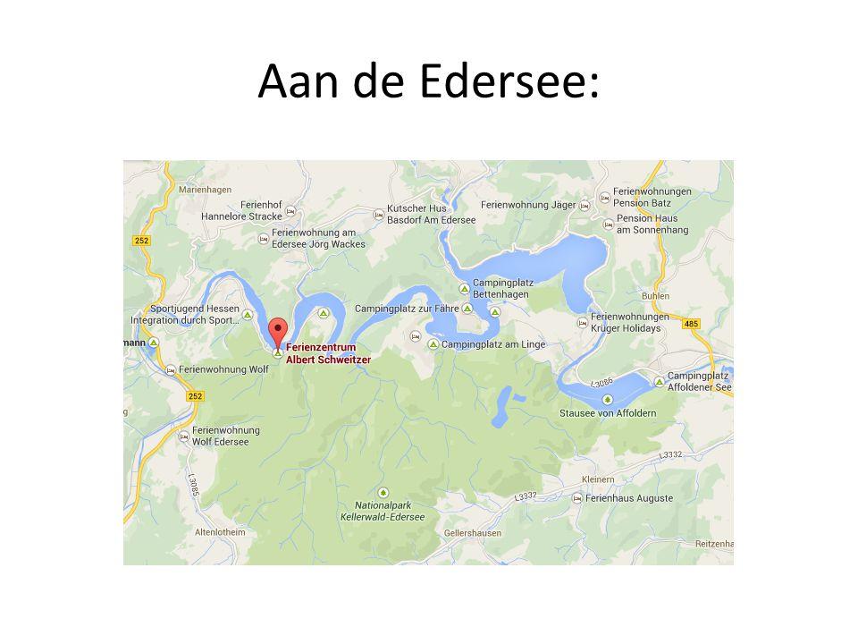 Aan de Edersee: