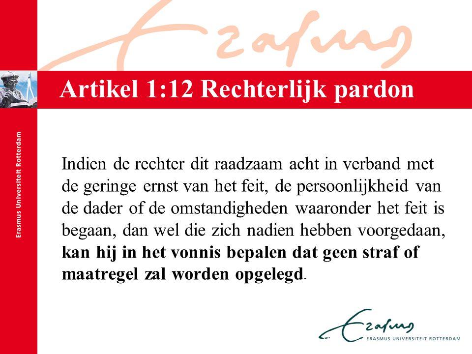 Artikel 1:12 Rechterlijk pardon