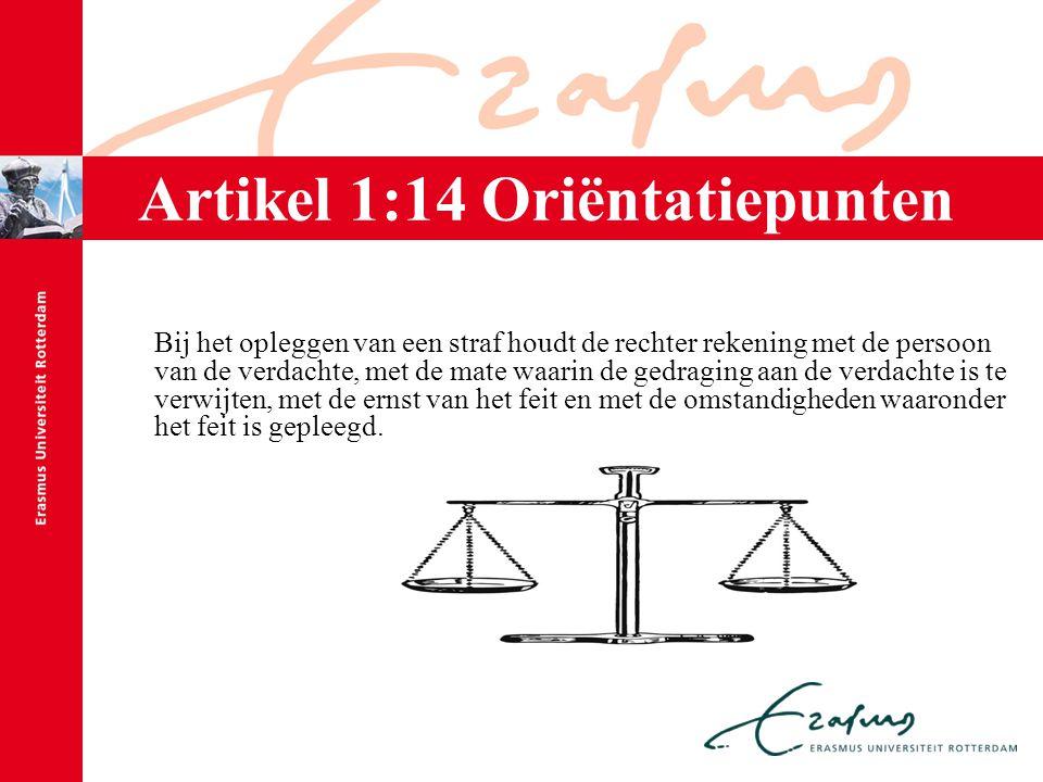 Artikel 1:14 Oriëntatiepunten