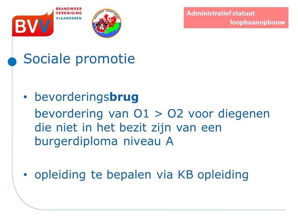 Sociale promotie bevorderingsbrug