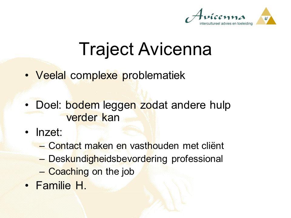 Traject Avicenna Veelal complexe problematiek