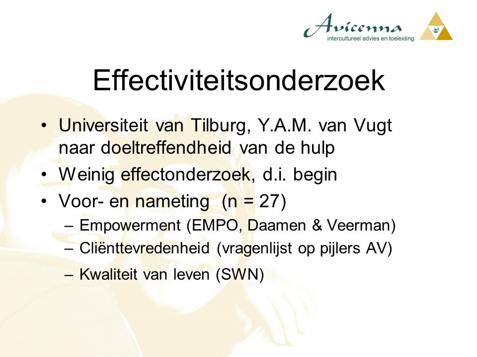 Effectiviteitsonderzoek