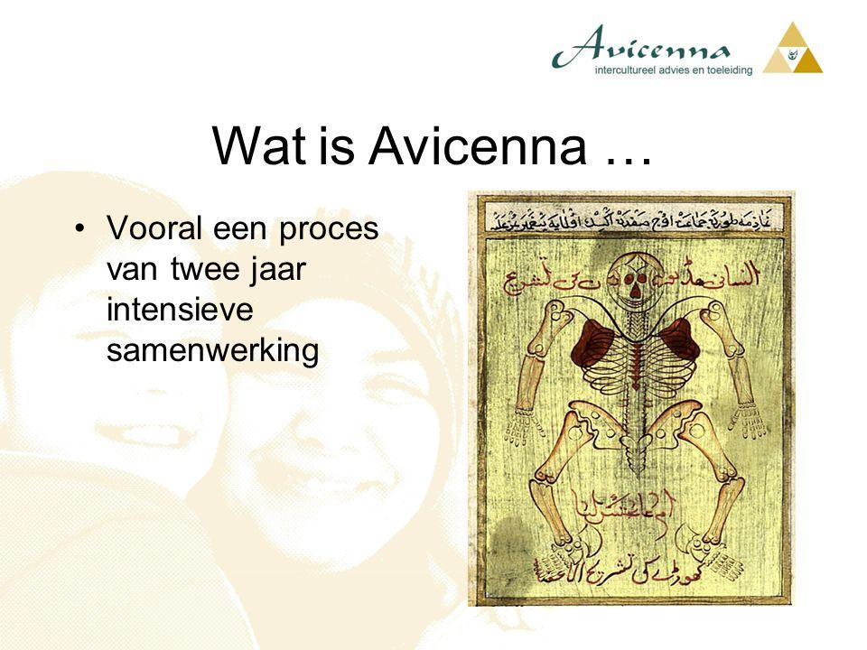 Wat is Avicenna … Vooral een proces van twee jaar intensieve samenwerking