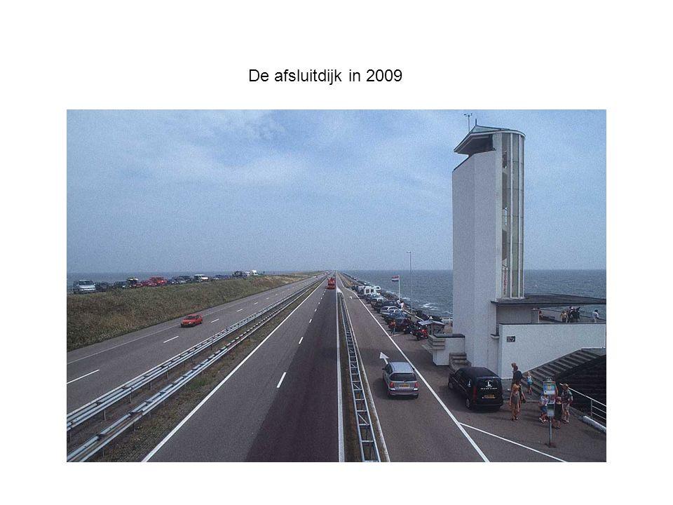 De afsluitdijk in 2009