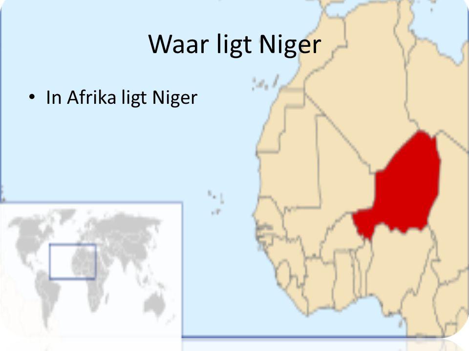 Waar ligt Niger In Afrika ligt Niger