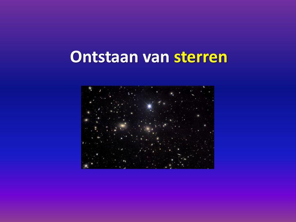 Ontstaan van sterren