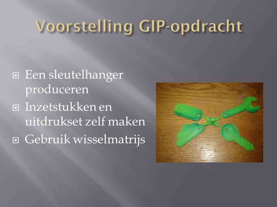 Voorstelling GIP-opdracht