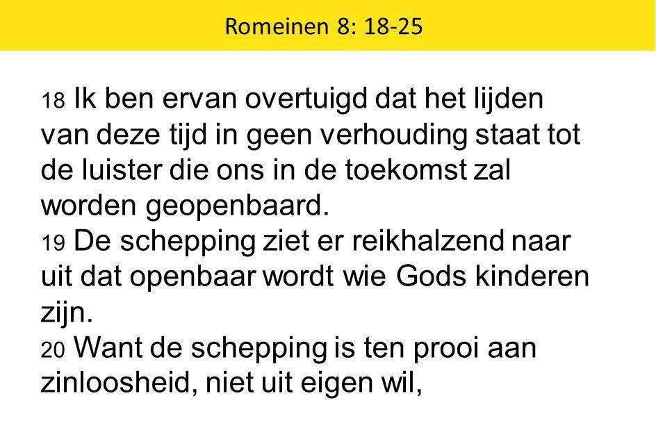 Romeinen 8: 18-25