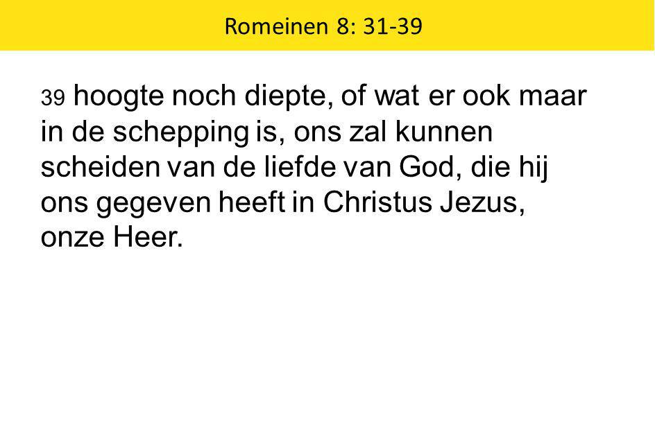 Romeinen 8: 31-39