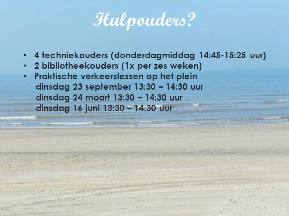 Hulpouders 4 techniekouders (donderdagmiddag 14:45-15:25 uur)